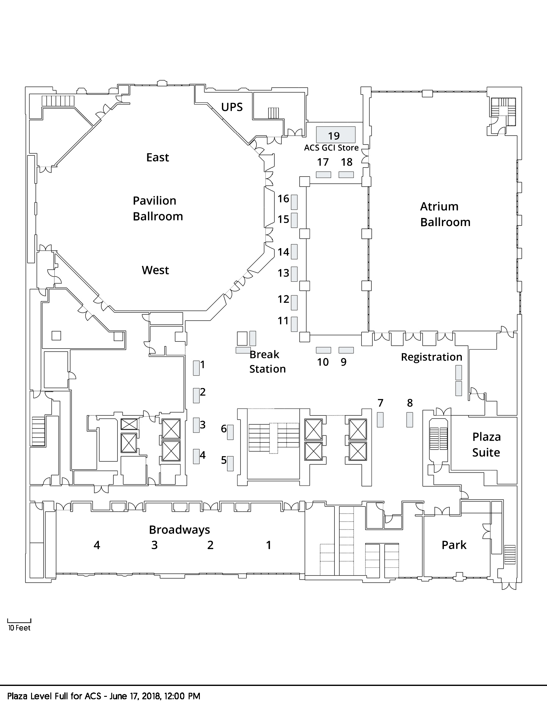 Green Expo Map